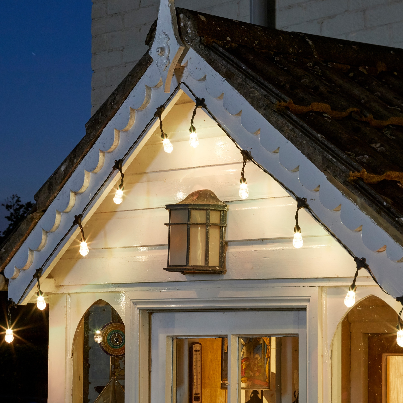 Click to view product details and reviews for Orion Bluetooth Solar String Lights.