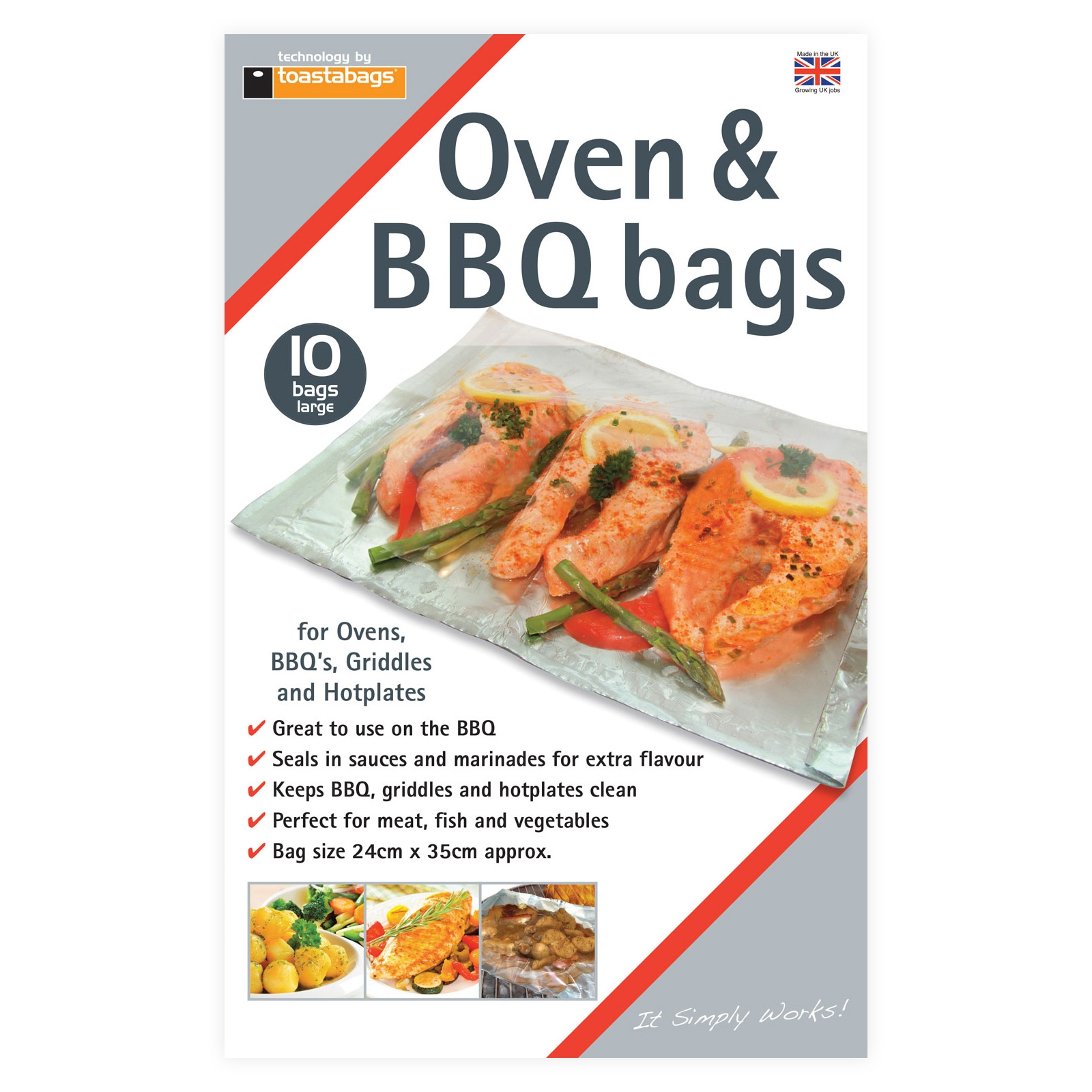 Oven And Bbq Bags
