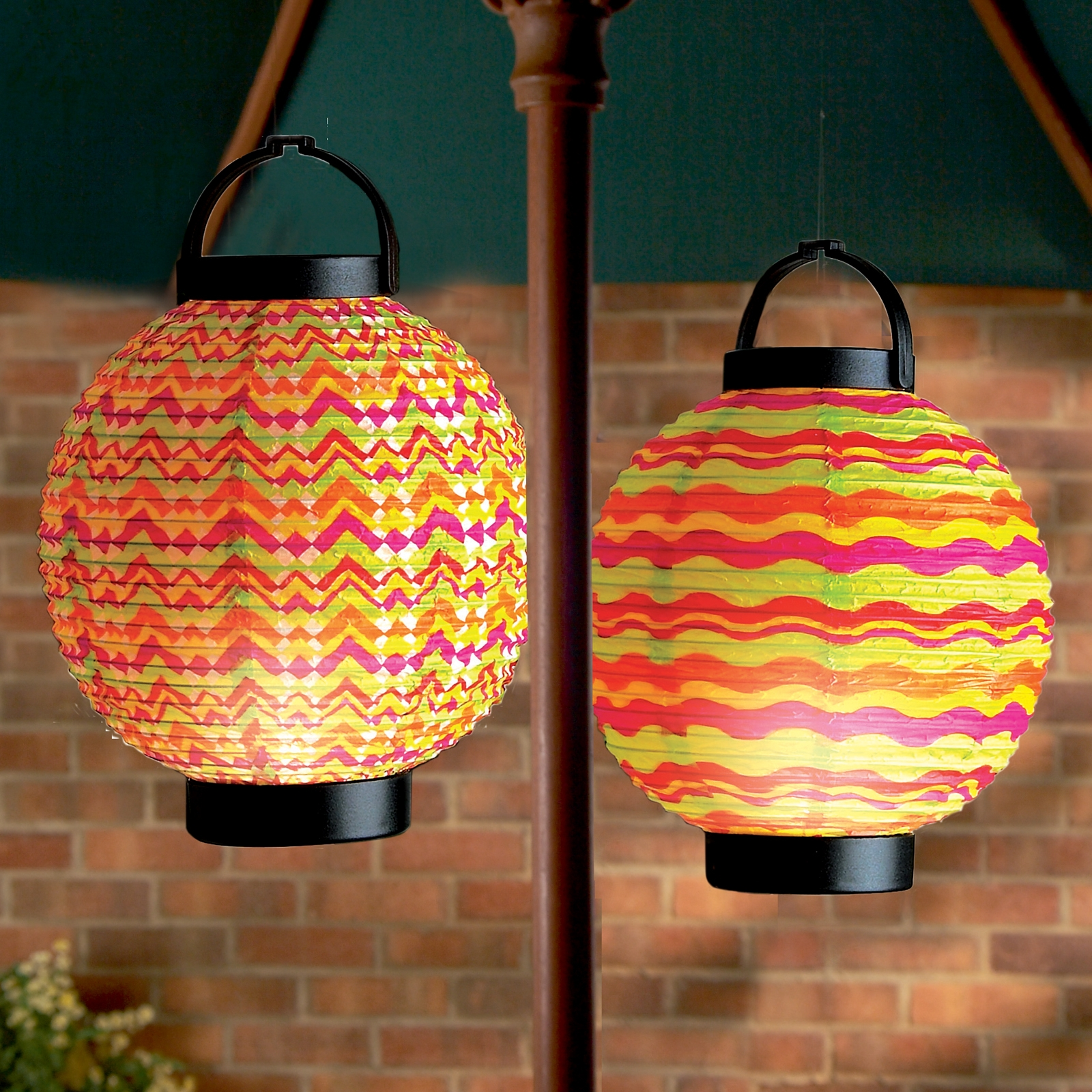 Click to view product details and reviews for 18cm Led Summer Paper Lantern.