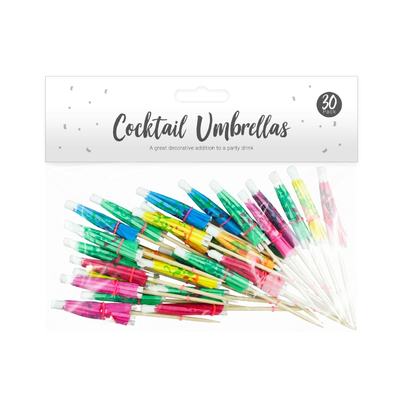 Party Cocktail Umbrellas X 30