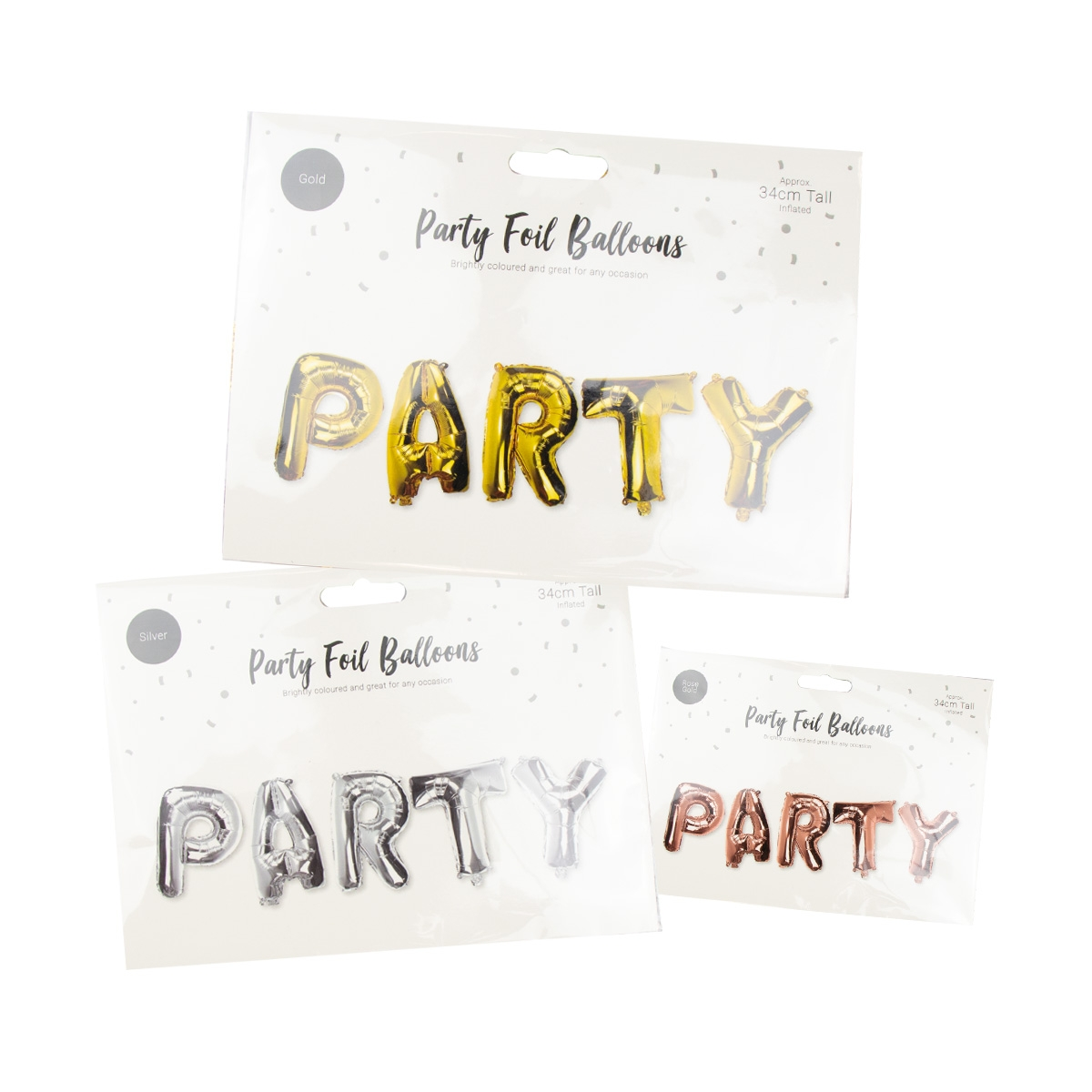 Click to view product details and reviews for Party Foil Balloons.