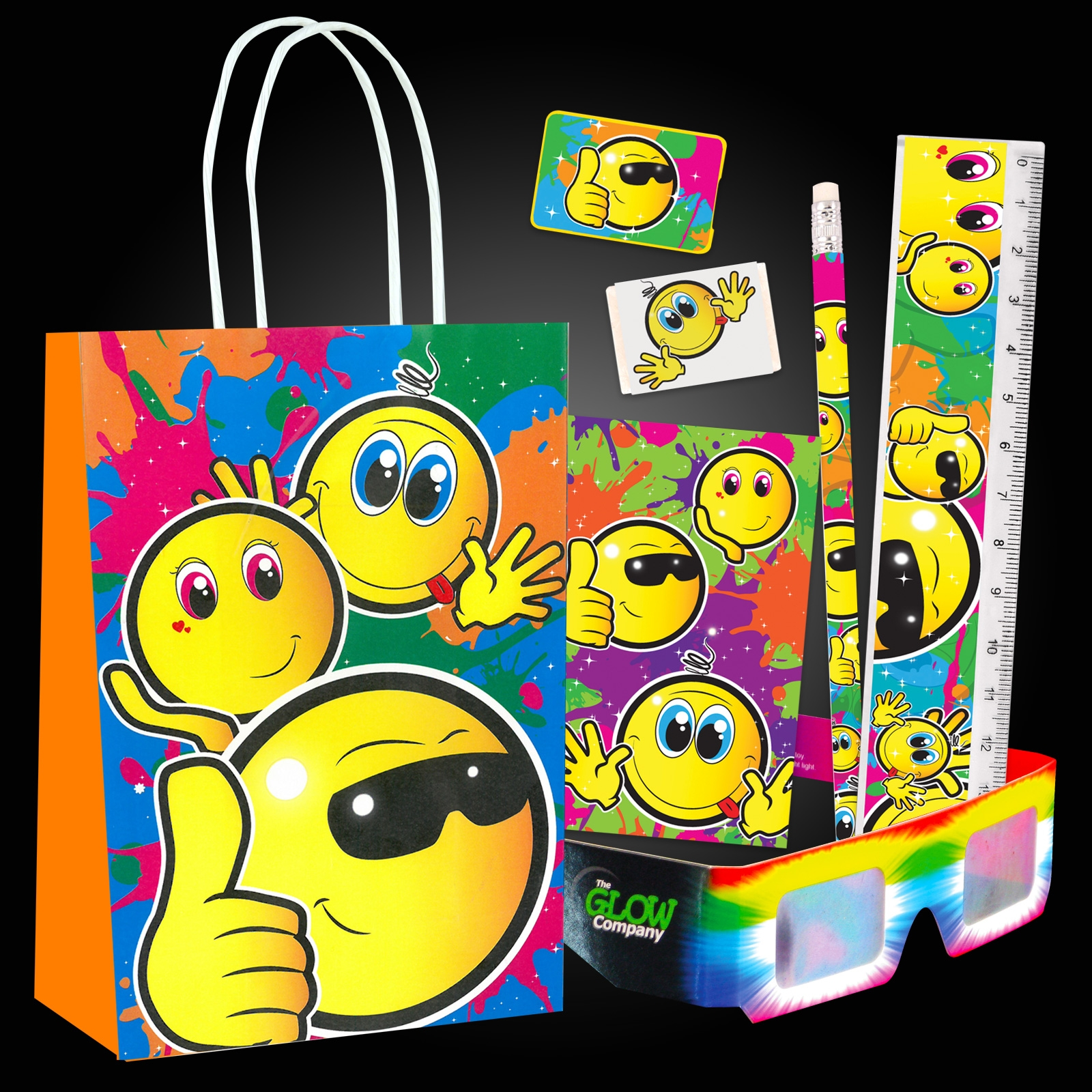 Emoji Party Bag Set 12 Pack