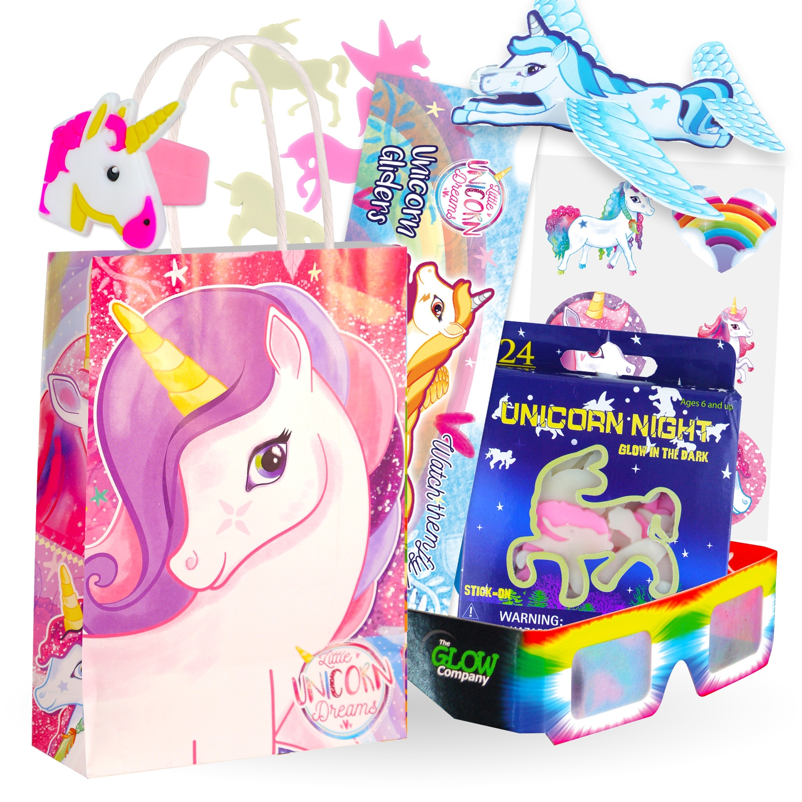 Click to view product details and reviews for Deluxe Unicorn Party Bag 12 Pack.