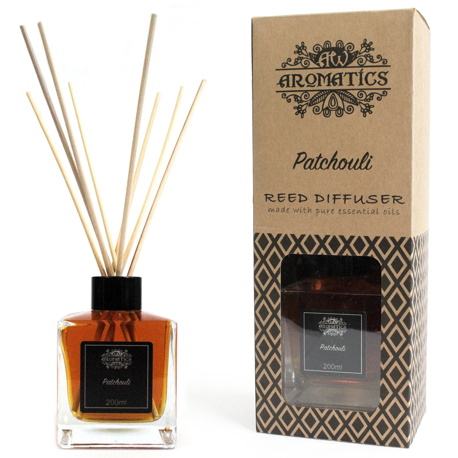 Click to view product details and reviews for Patchouli Oil Reed Diffuser 200ml.