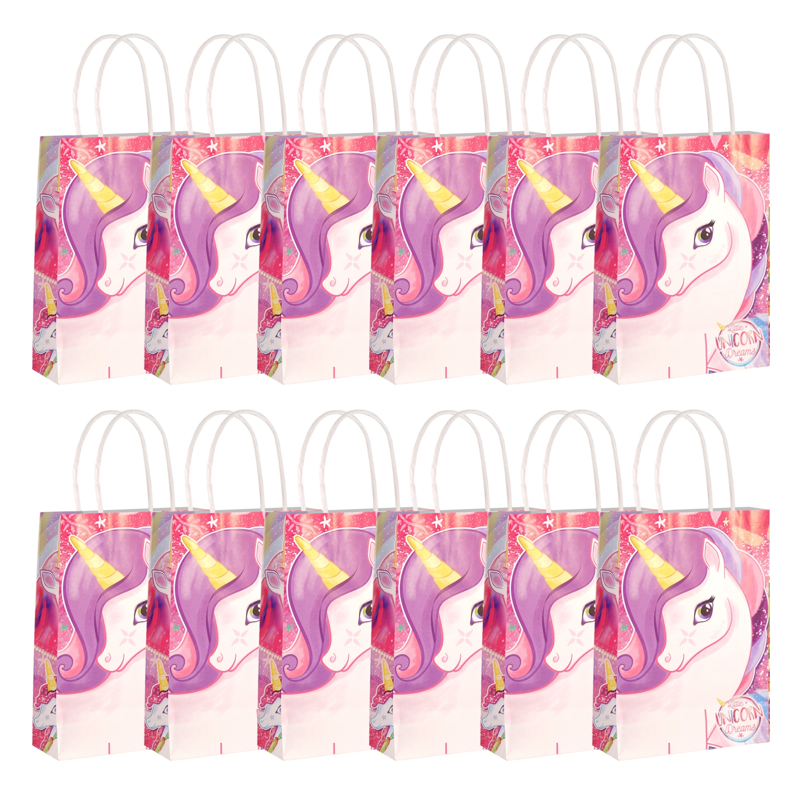 Click to view product details and reviews for Unicorn Paper Party Bags 12 Pack.