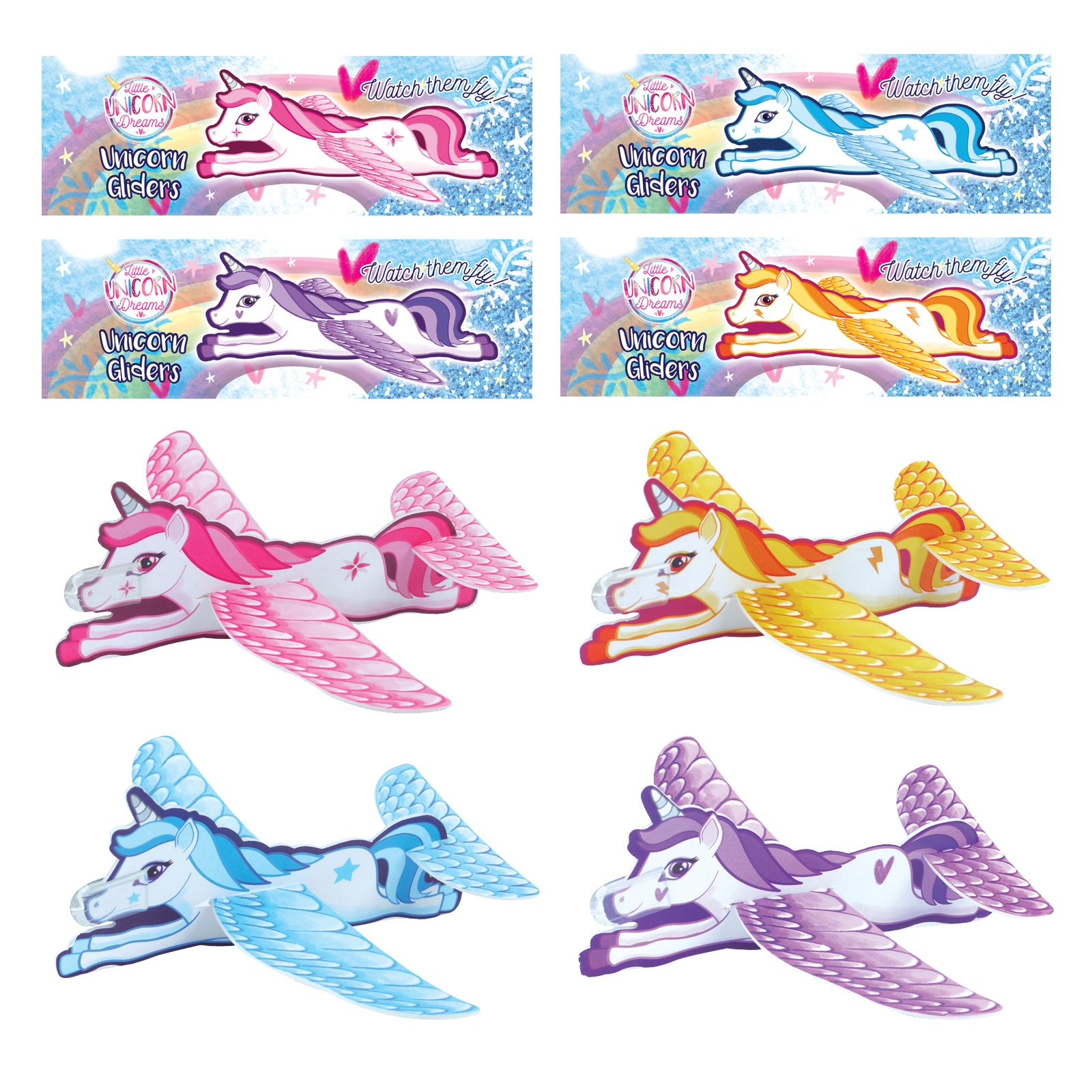 Click to view product details and reviews for Unicorn Gliders 12 Pack.