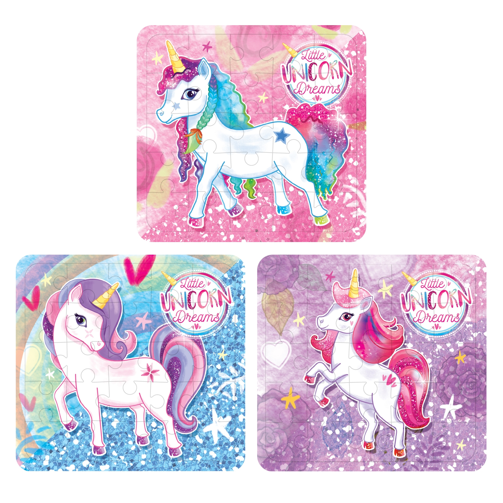 Click to view product details and reviews for Unicorn Jigsaw Puzzle 12 Pack.