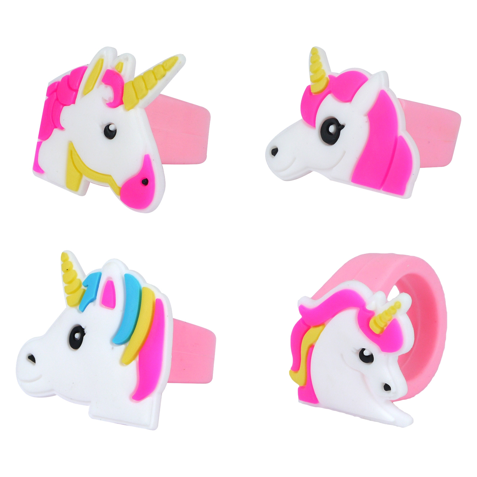 Unicorn Party Rings 12 Pack