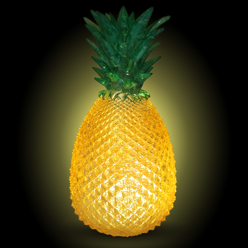 Click to view product details and reviews for Pineapple Lamp Cut Glass Effect.