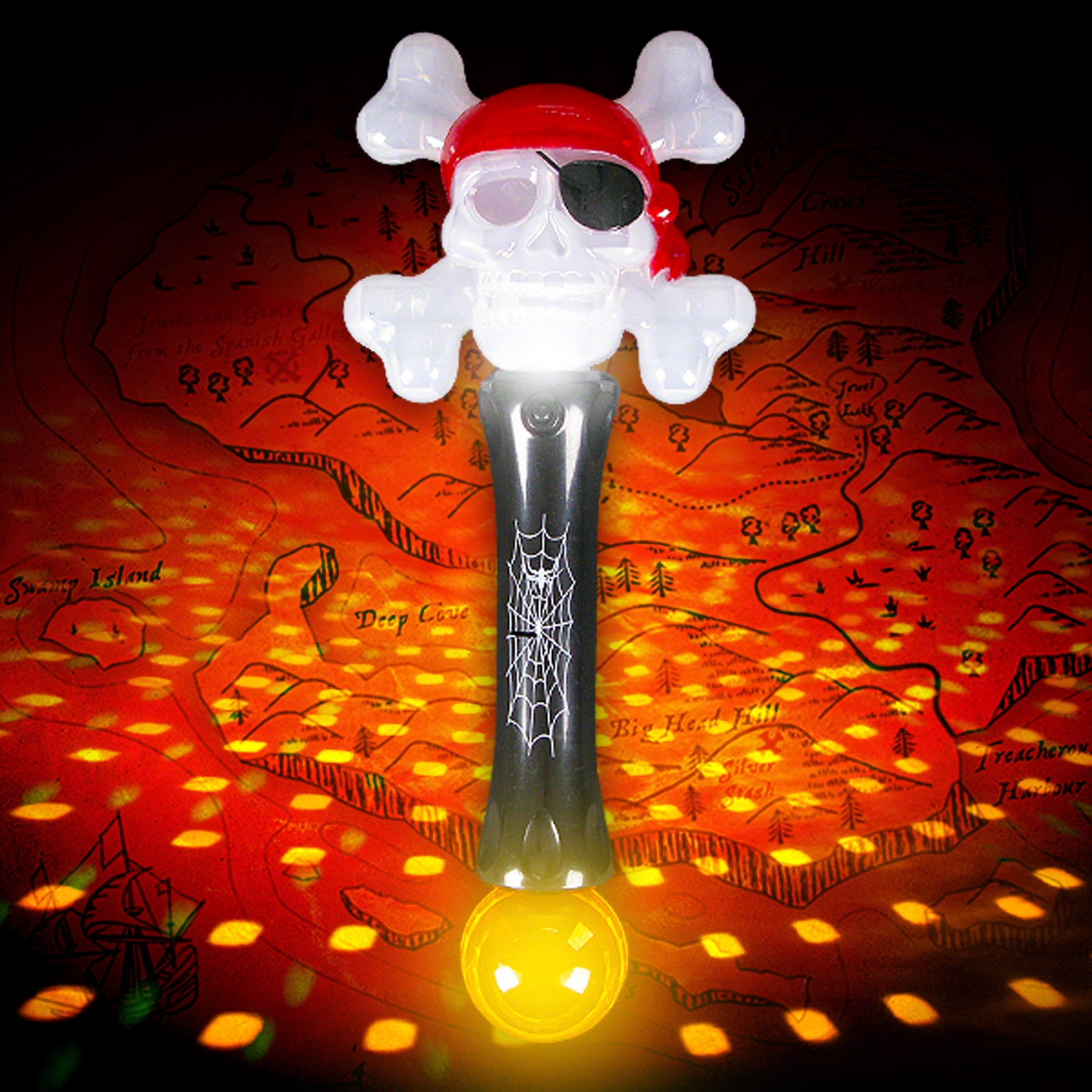 Click to view product details and reviews for Flashing Pirate Baton.