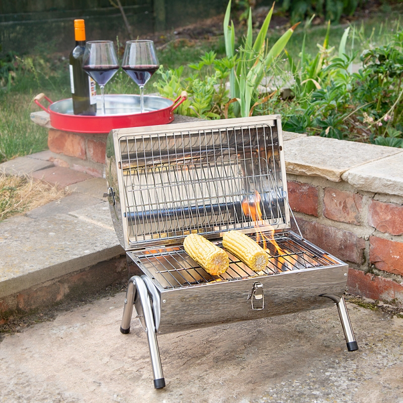 Click to view product details and reviews for Portable Double Barrel Bbq.