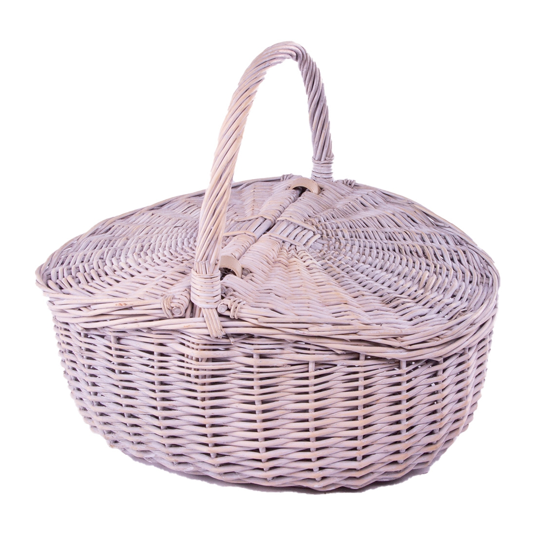 Click to view product details and reviews for Provence Double Lidded Picnic Basket.
