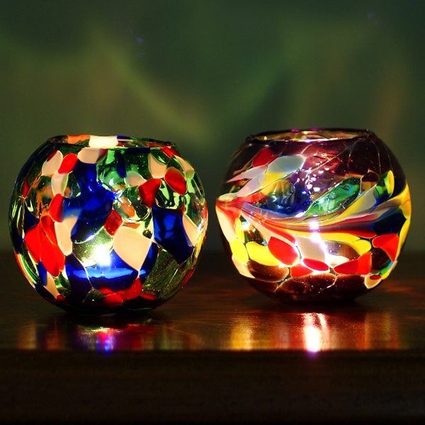 Click to view product details and reviews for Recycled Glass Night Light.