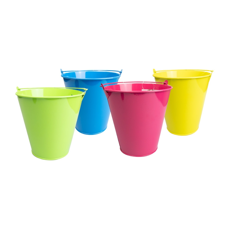 Click to view product details and reviews for Neon Tin Bucket.