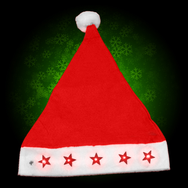 Click to view product details and reviews for Flashing Santa Hat Wholesale.