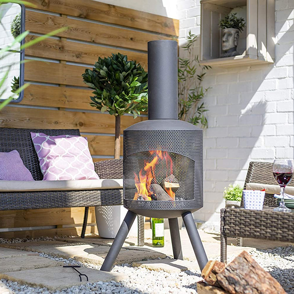 Click to view product details and reviews for Santana Chimenea Fireplace.