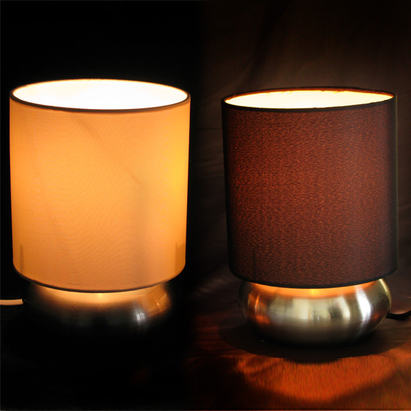 Satin Touch Lamps 2 Pack