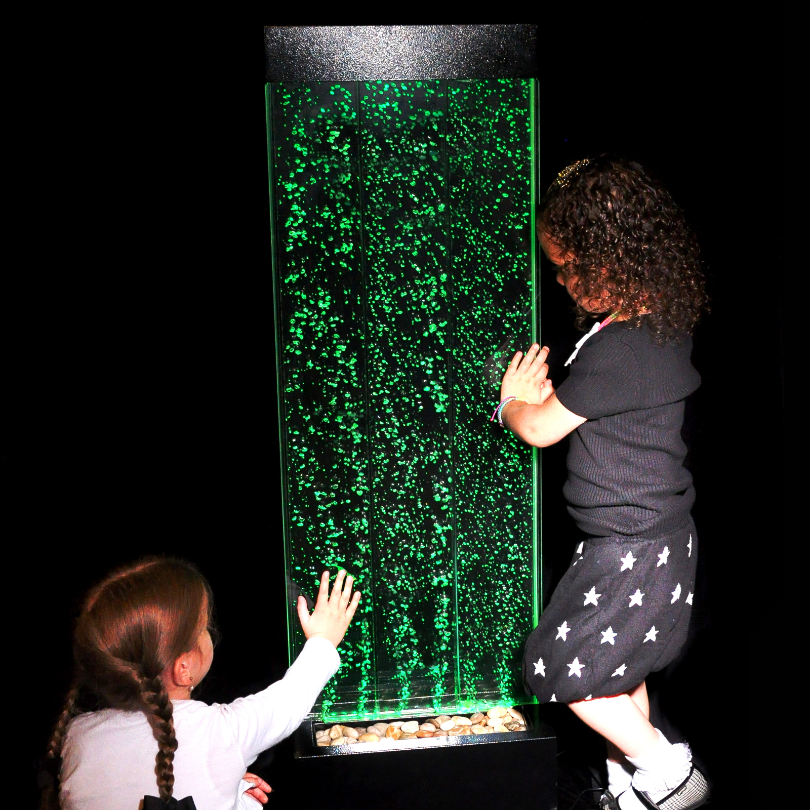 Click to view product details and reviews for 120cm Floor Standing Sensory Bubble Wall.