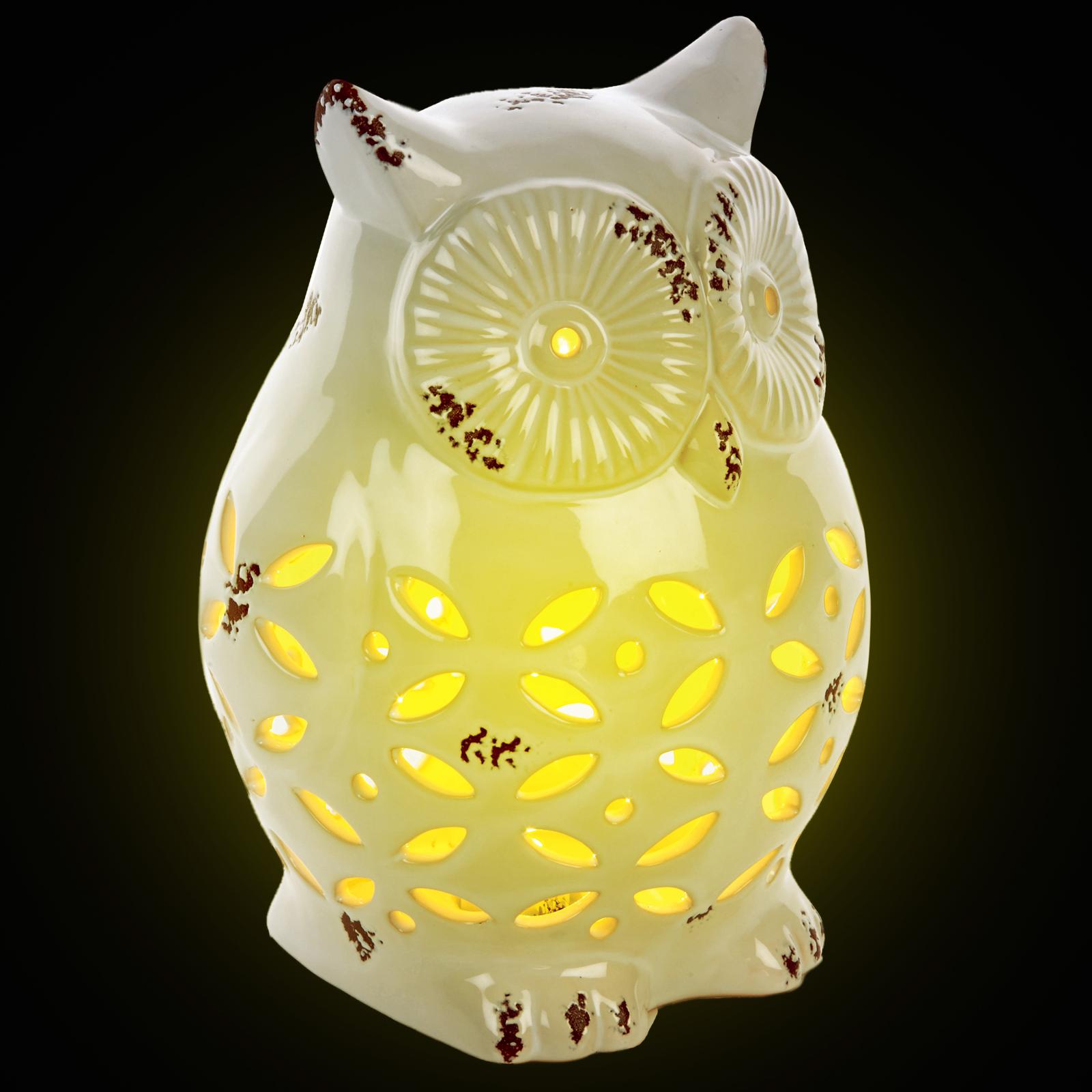 Silhouette Owl Lamp