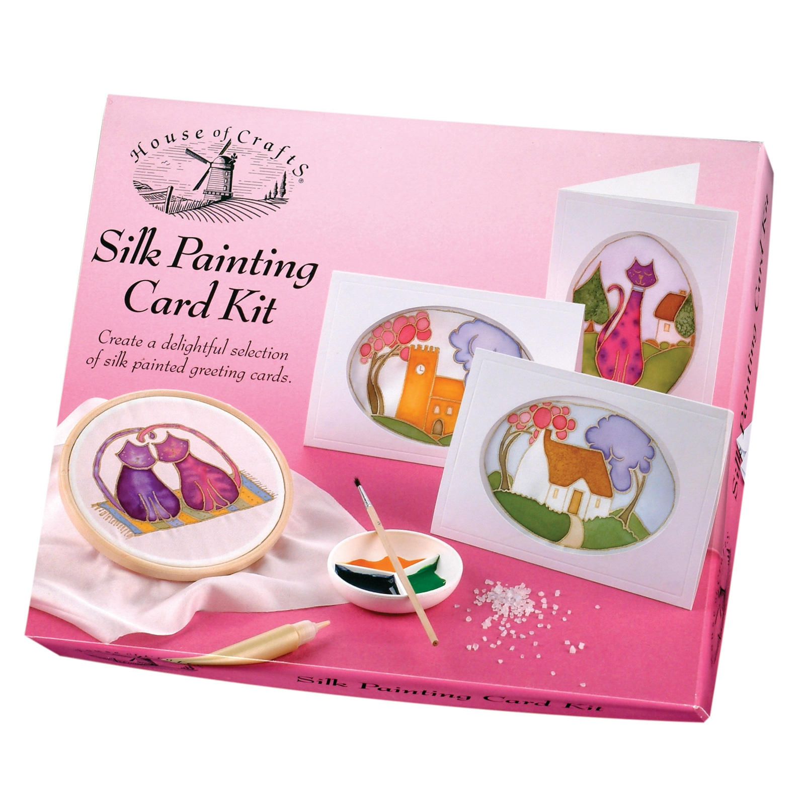 Click to view product details and reviews for Silk Painting Card Kit.