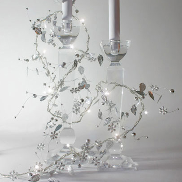 Battery Operated Silver Whisper Fairy Lights