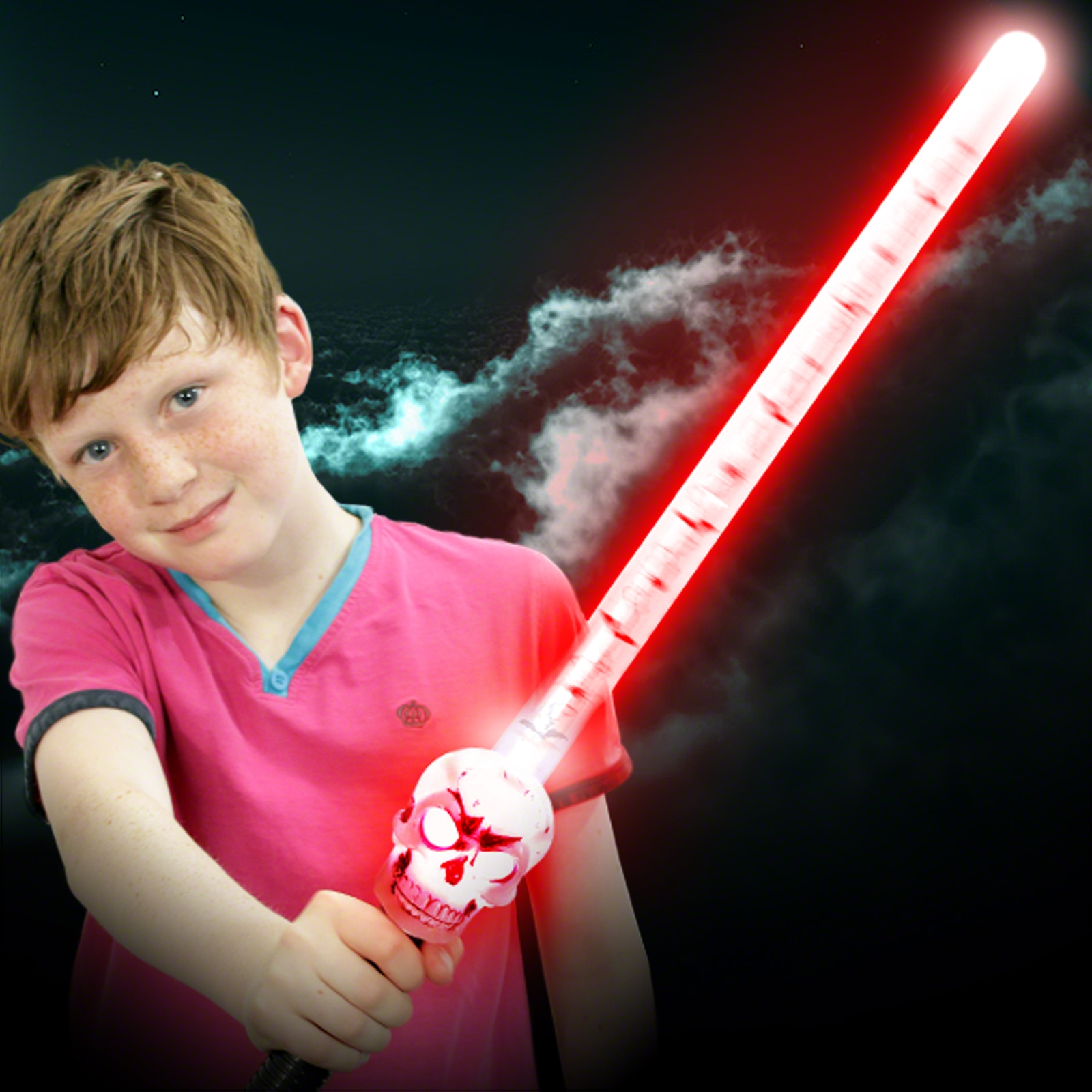 Click to view product details and reviews for Flashing Skull Sword Wholesale.