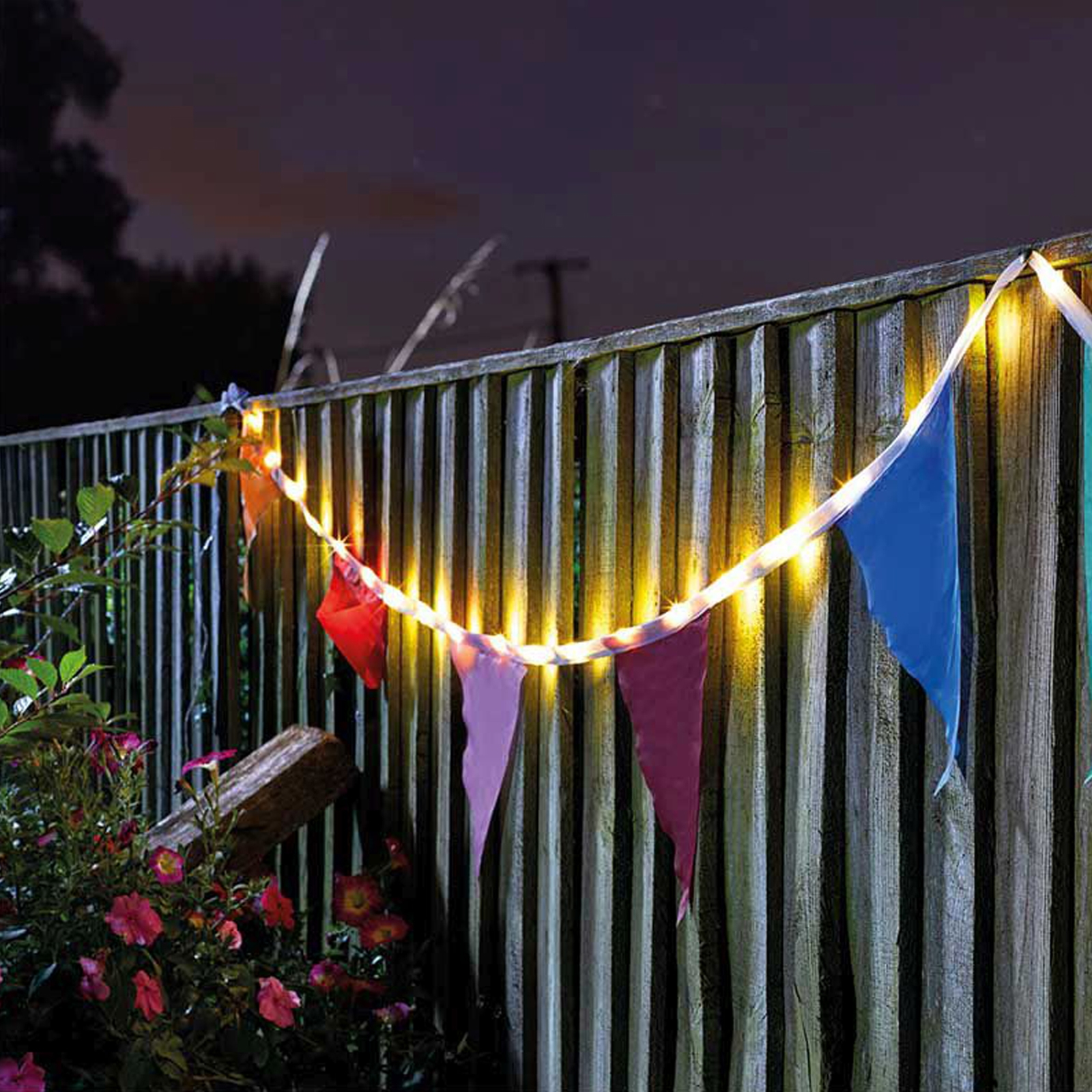 Click to view product details and reviews for Solar Bunting String Lights.