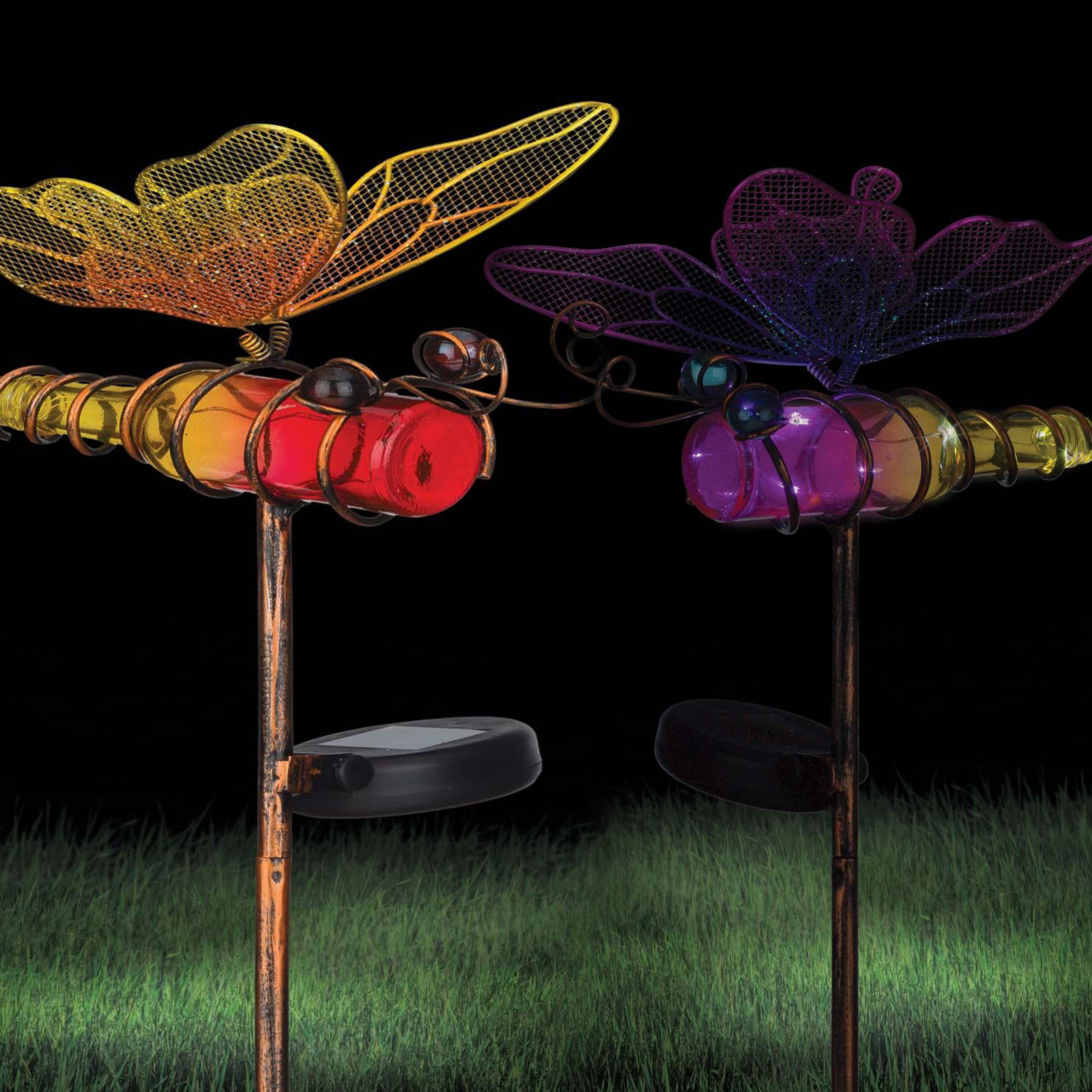 Click to view product details and reviews for Solar Butterfly Stake.
