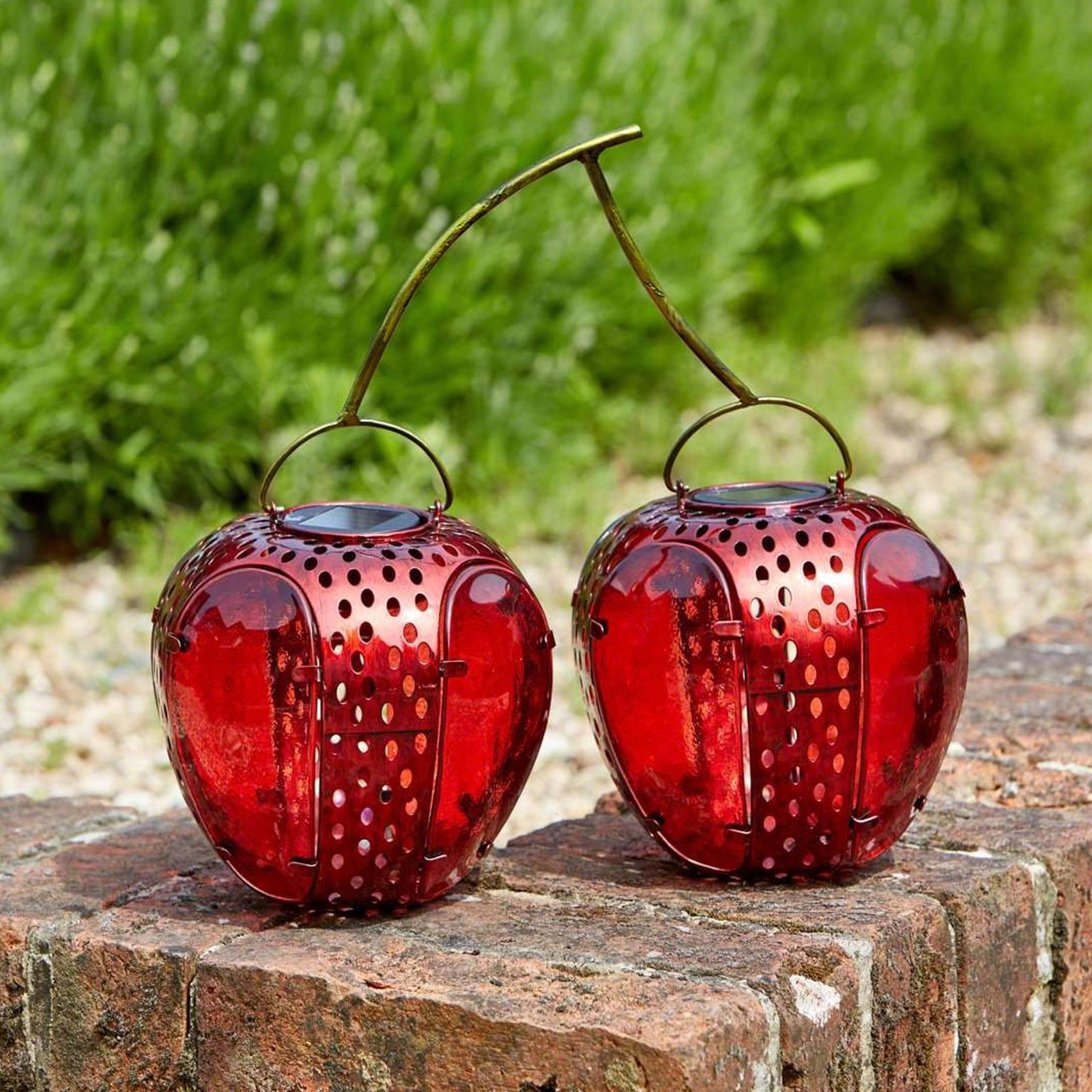 Click to view product details and reviews for Solar Cherries Lantern.