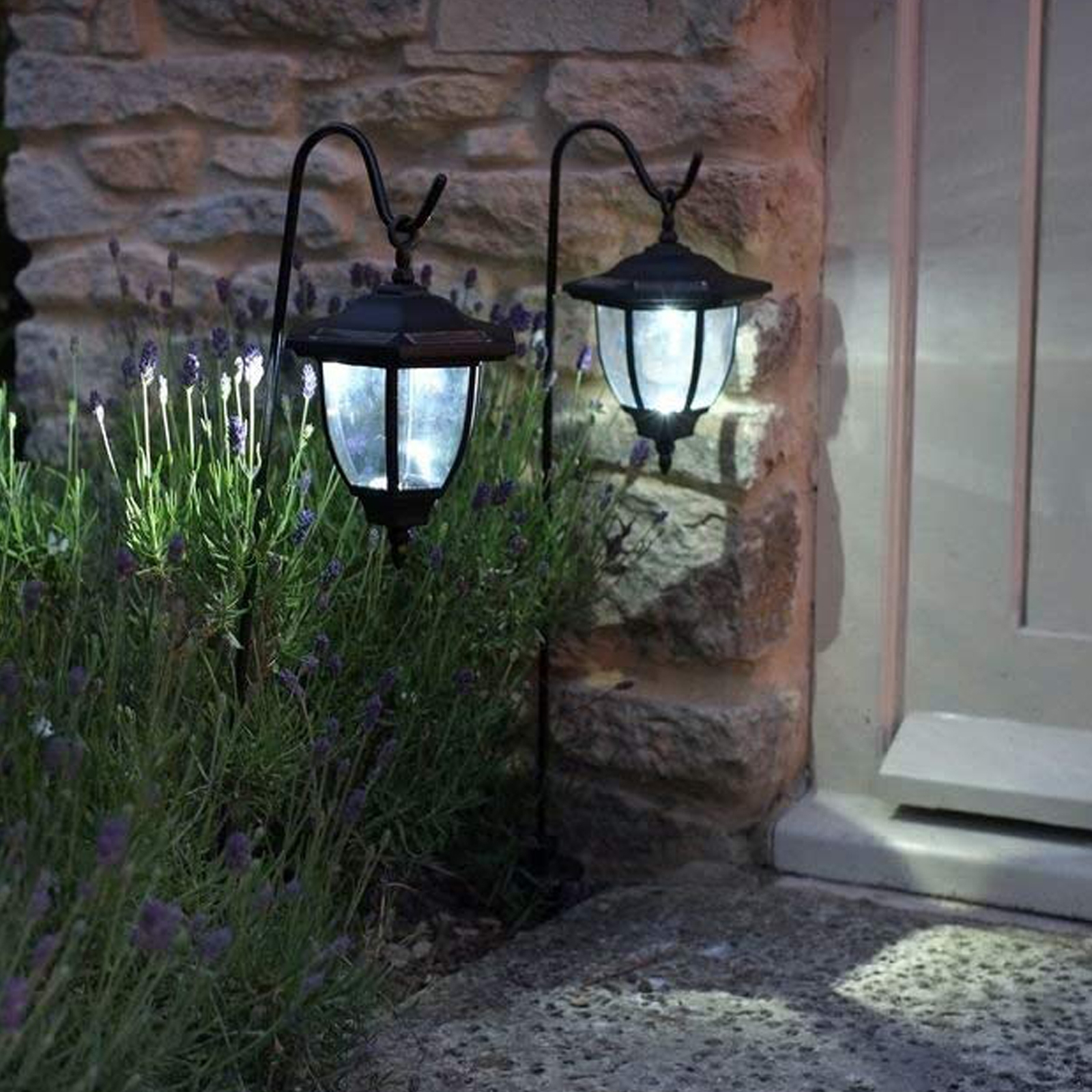 Solar Coach Lanterns 2 Pack