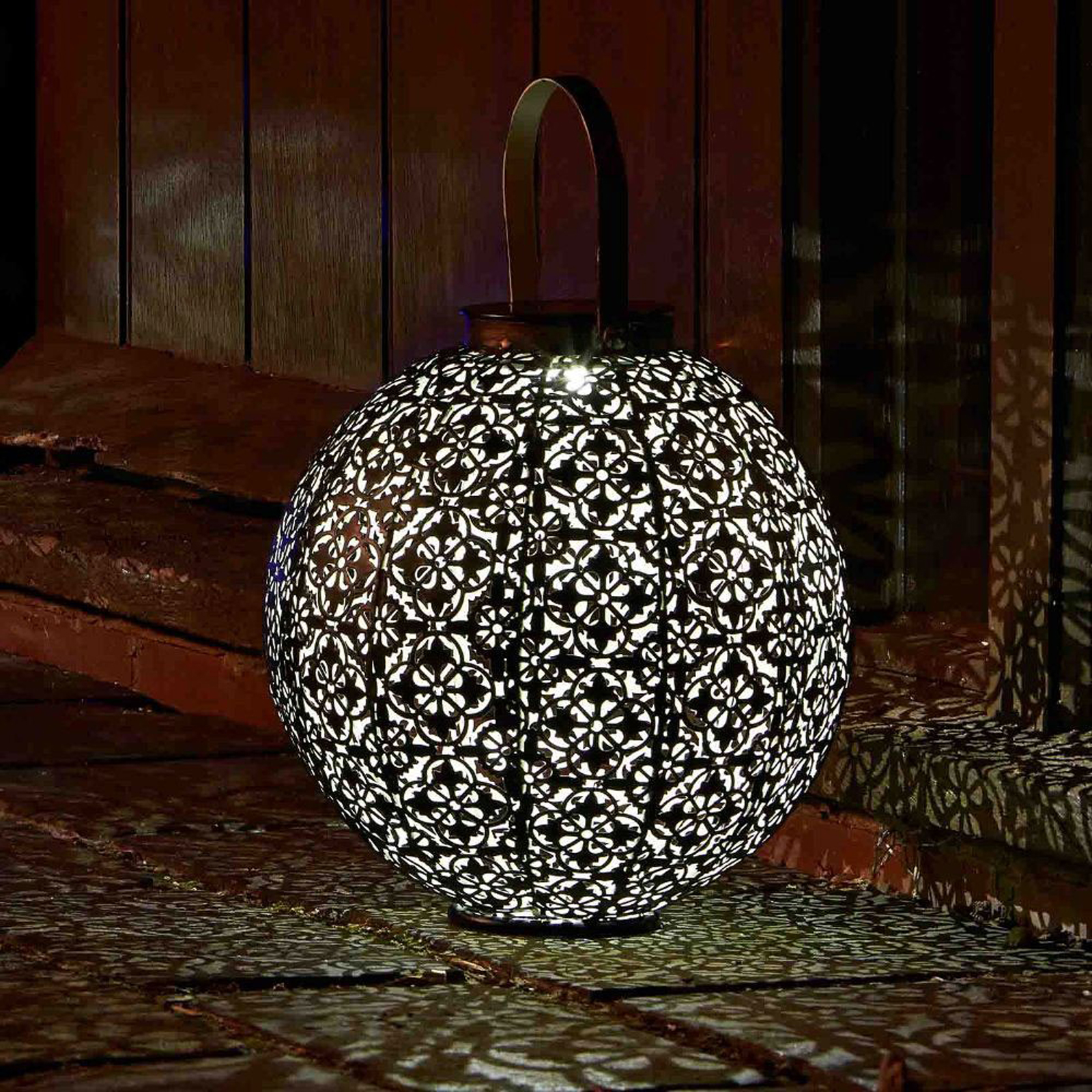 Click to view product details and reviews for Damasque Solar Lantern.
