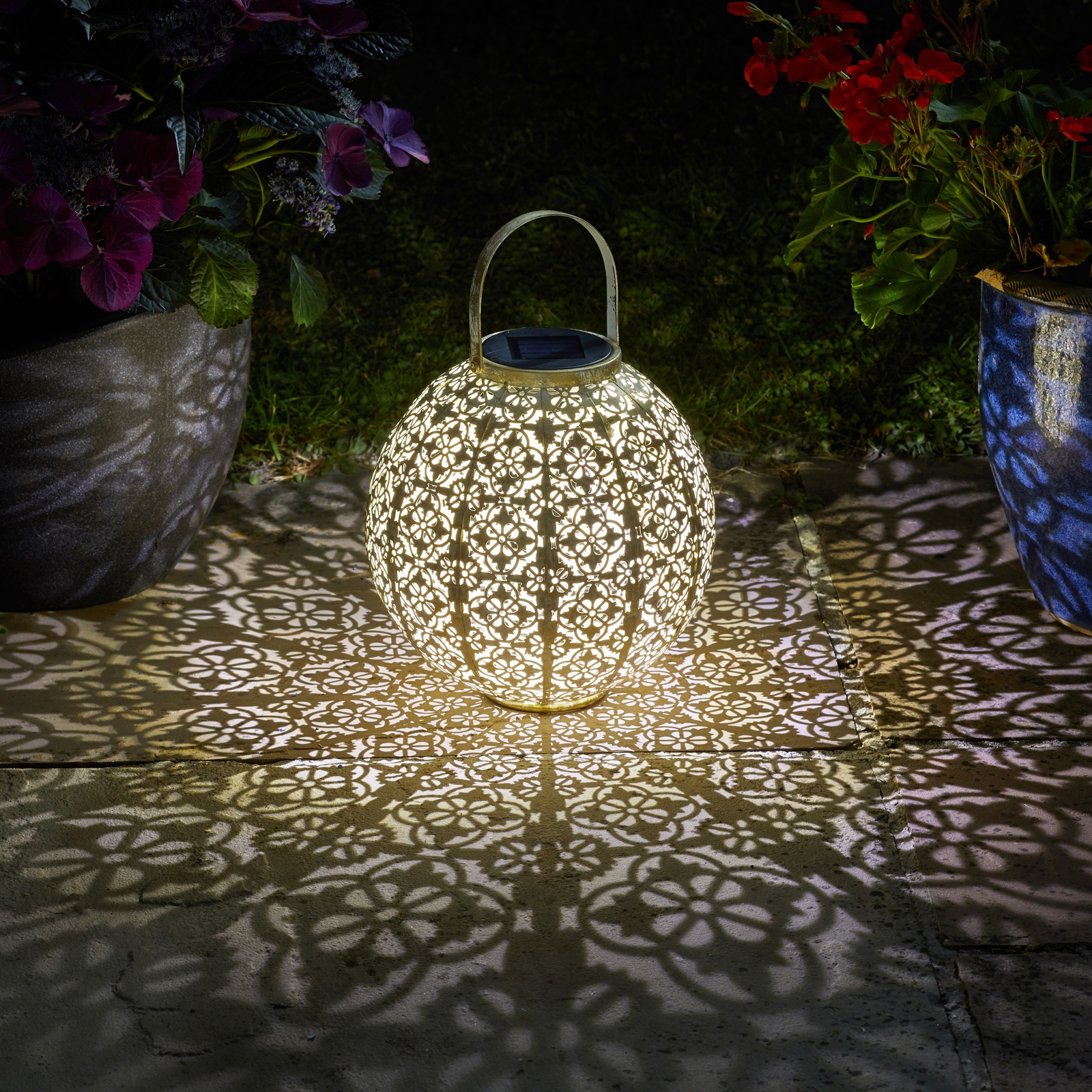 Click to view product details and reviews for Solar Damasque Lantern Cream.