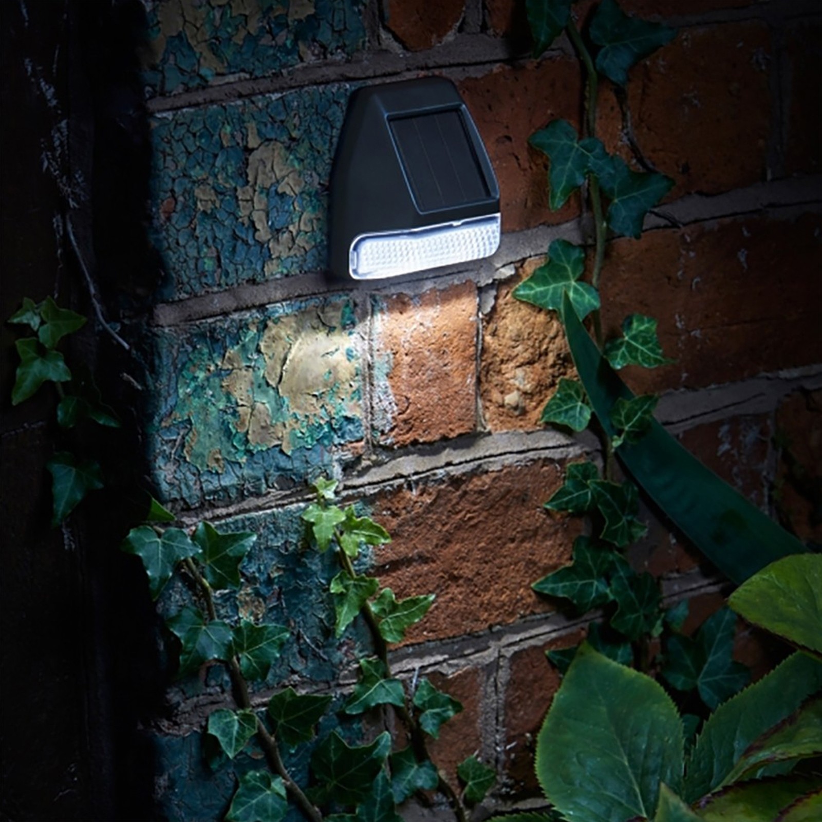 Solar Fence Wall And Post Light