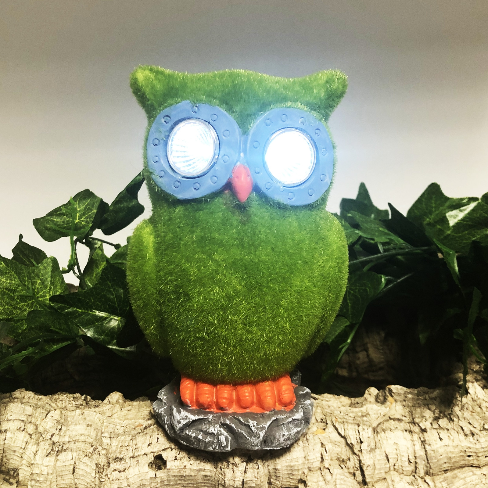 Click to view product details and reviews for Solar Flock Owl.