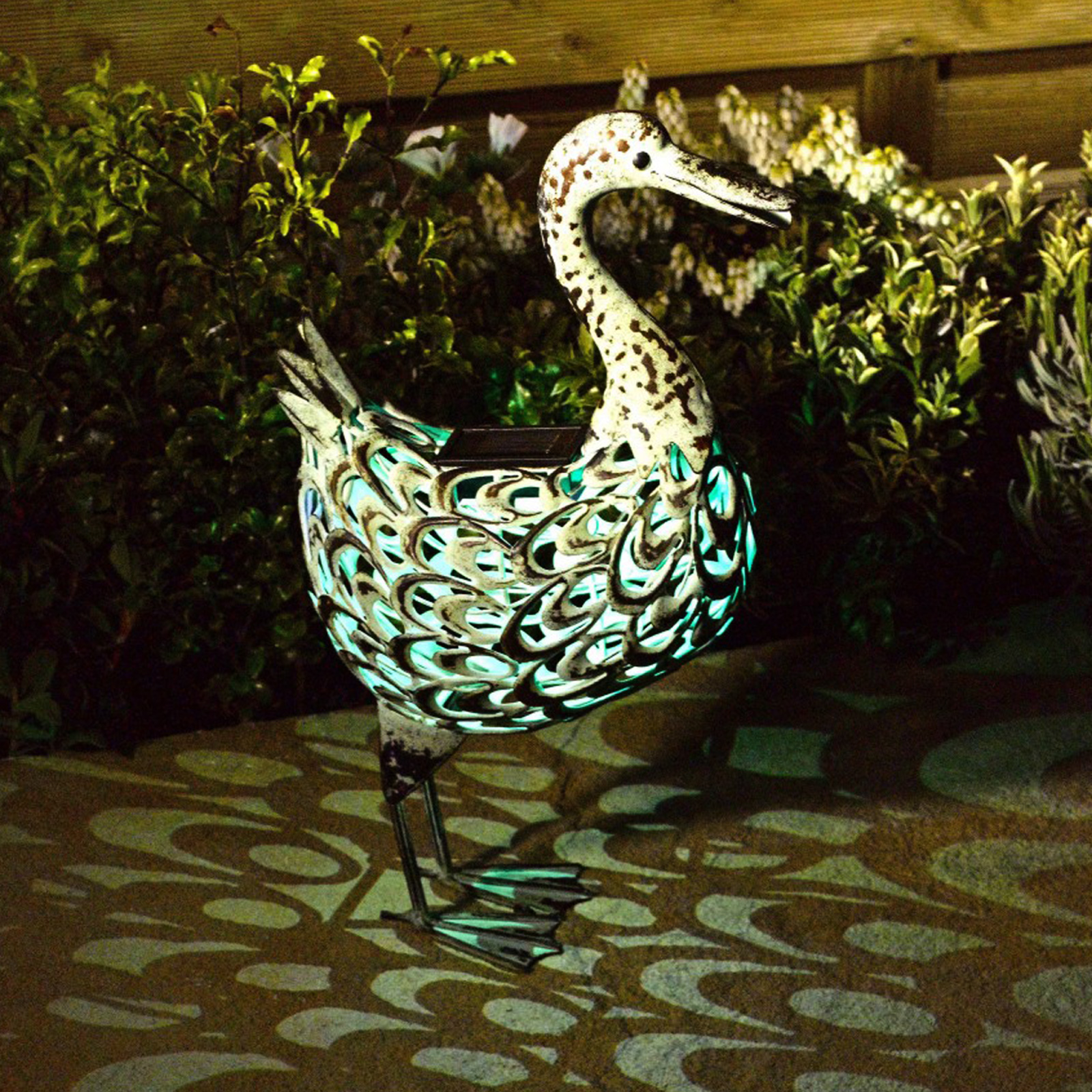 Click to view product details and reviews for Solar Metal Duck.