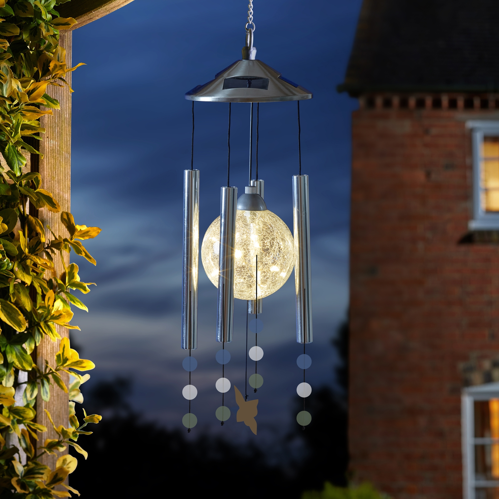 Click to view product details and reviews for Solar Orbis Windchime.