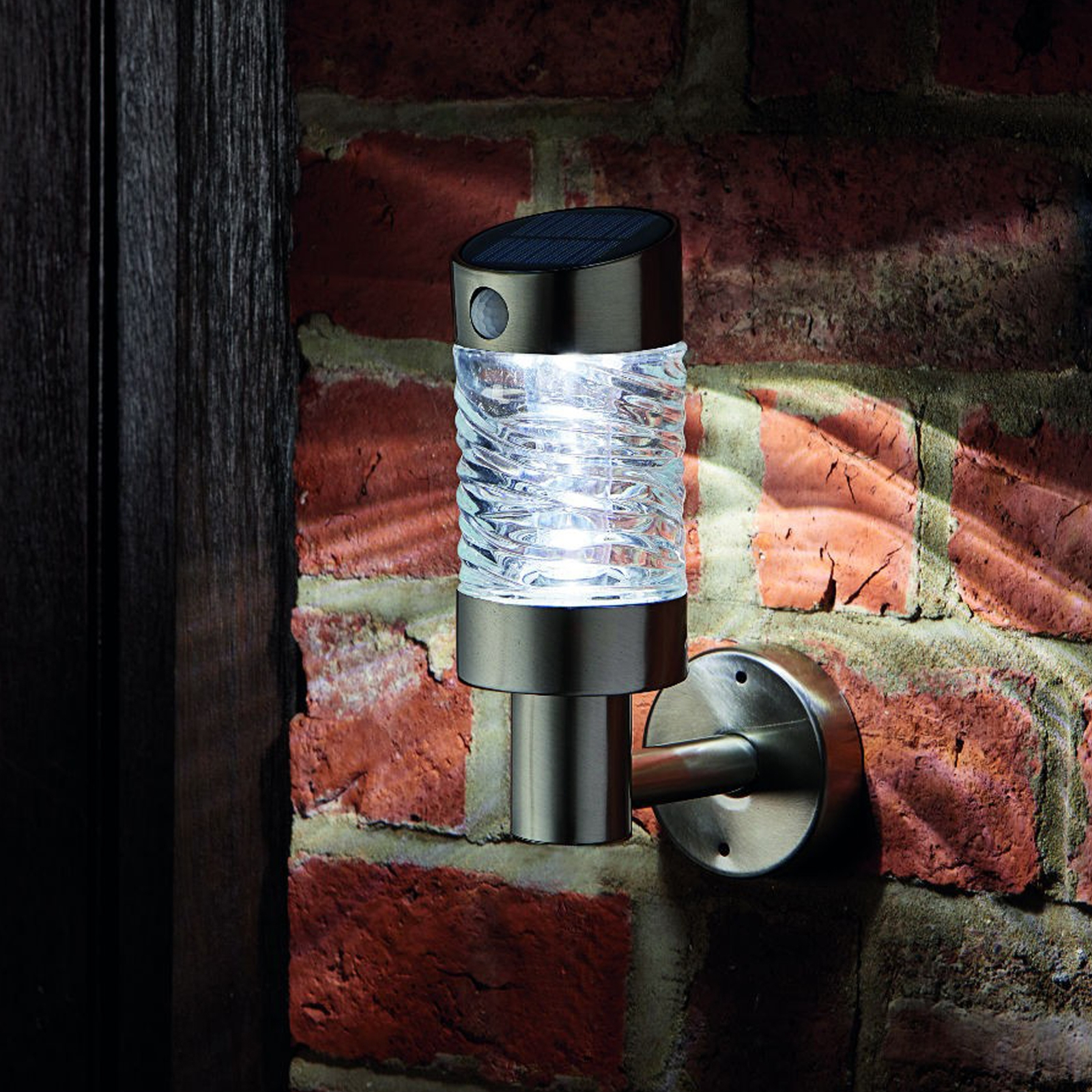 Click to view product details and reviews for Solar Pir Wave Wall Light.