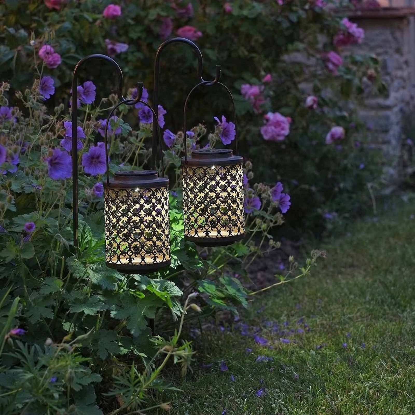 Click to view product details and reviews for Solar Riad Lanterns 2 Pack.