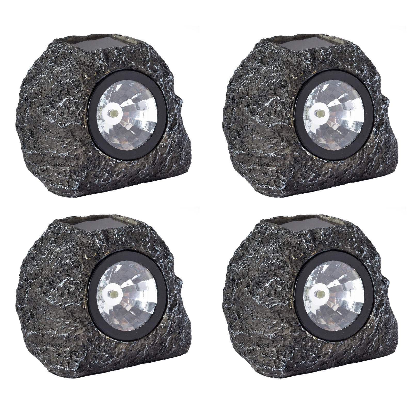 Click to view product details and reviews for Solar Rock Lights X 4.