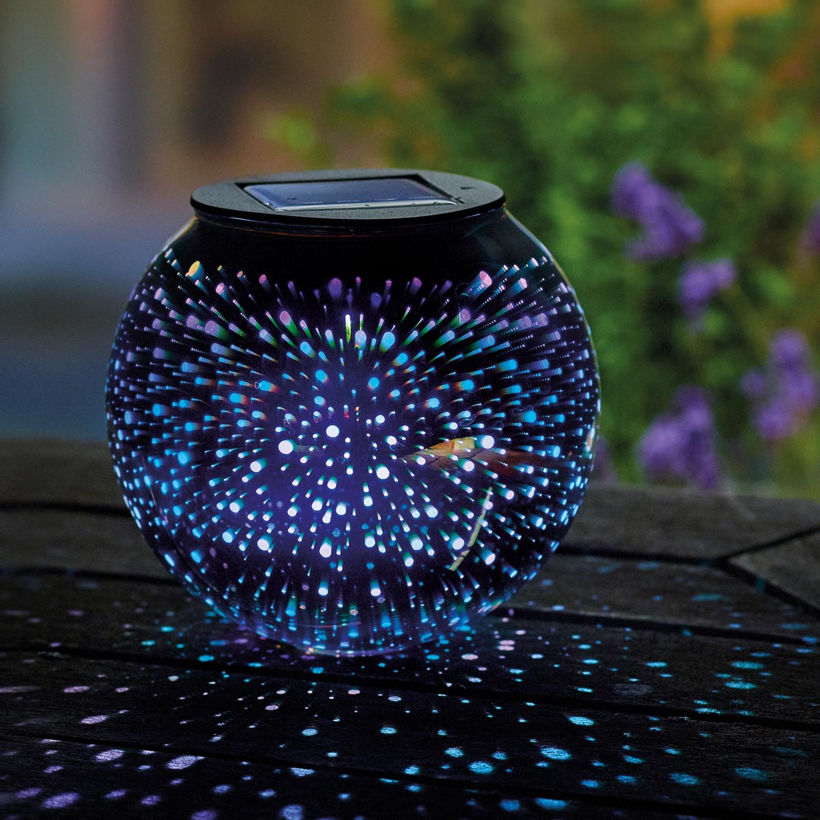 Solar Sphere Table Top Stargazer Light