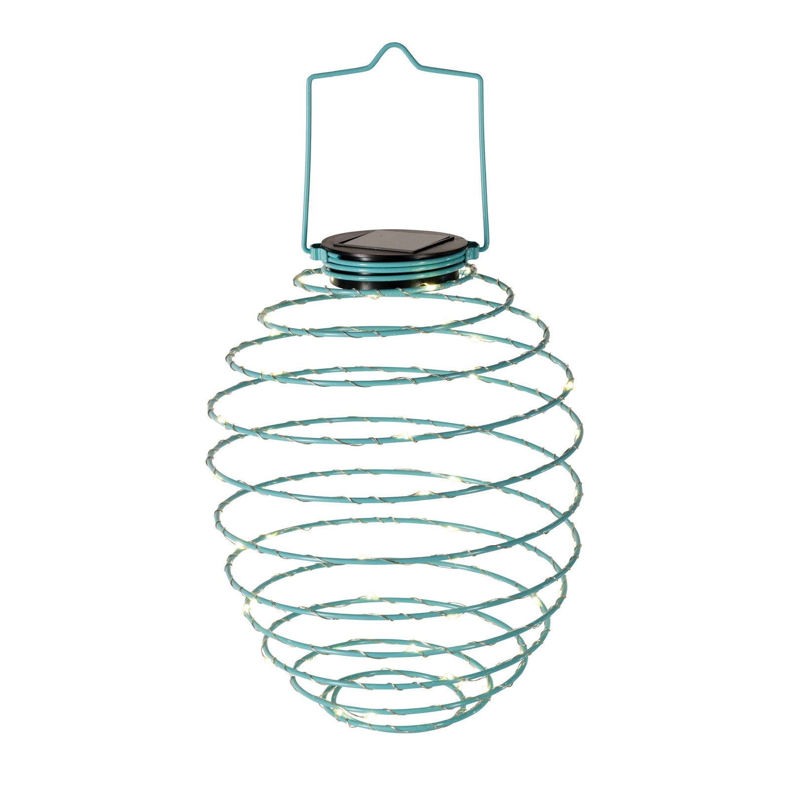 Click to view product details and reviews for Solar Spiral Lantern Blue.