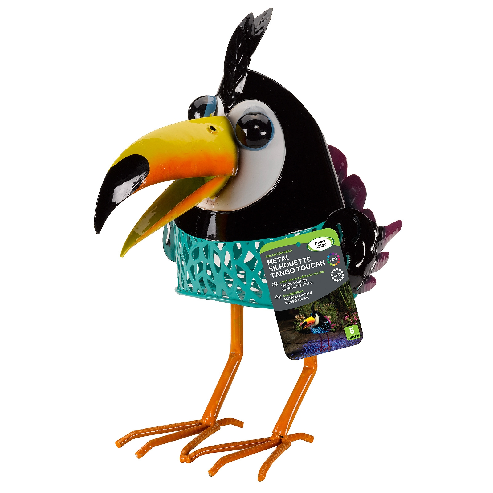 Click to view product details and reviews for Solar Tango Toucan Decoration.