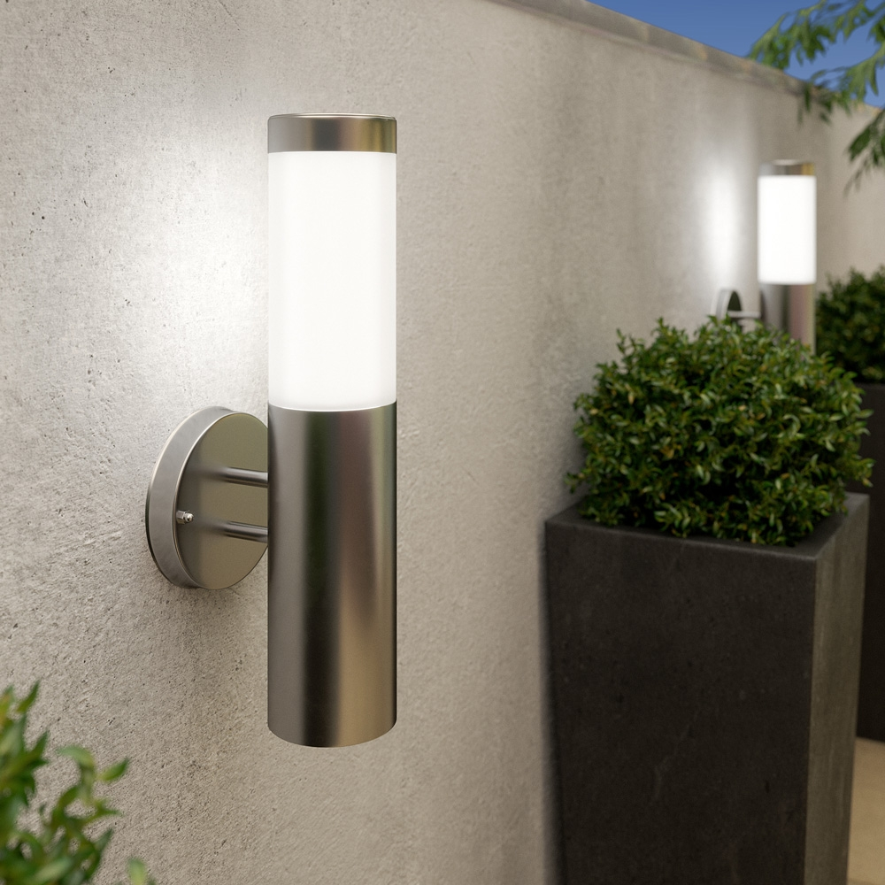 Click to view product details and reviews for Canterbury Solar Wall Light.
