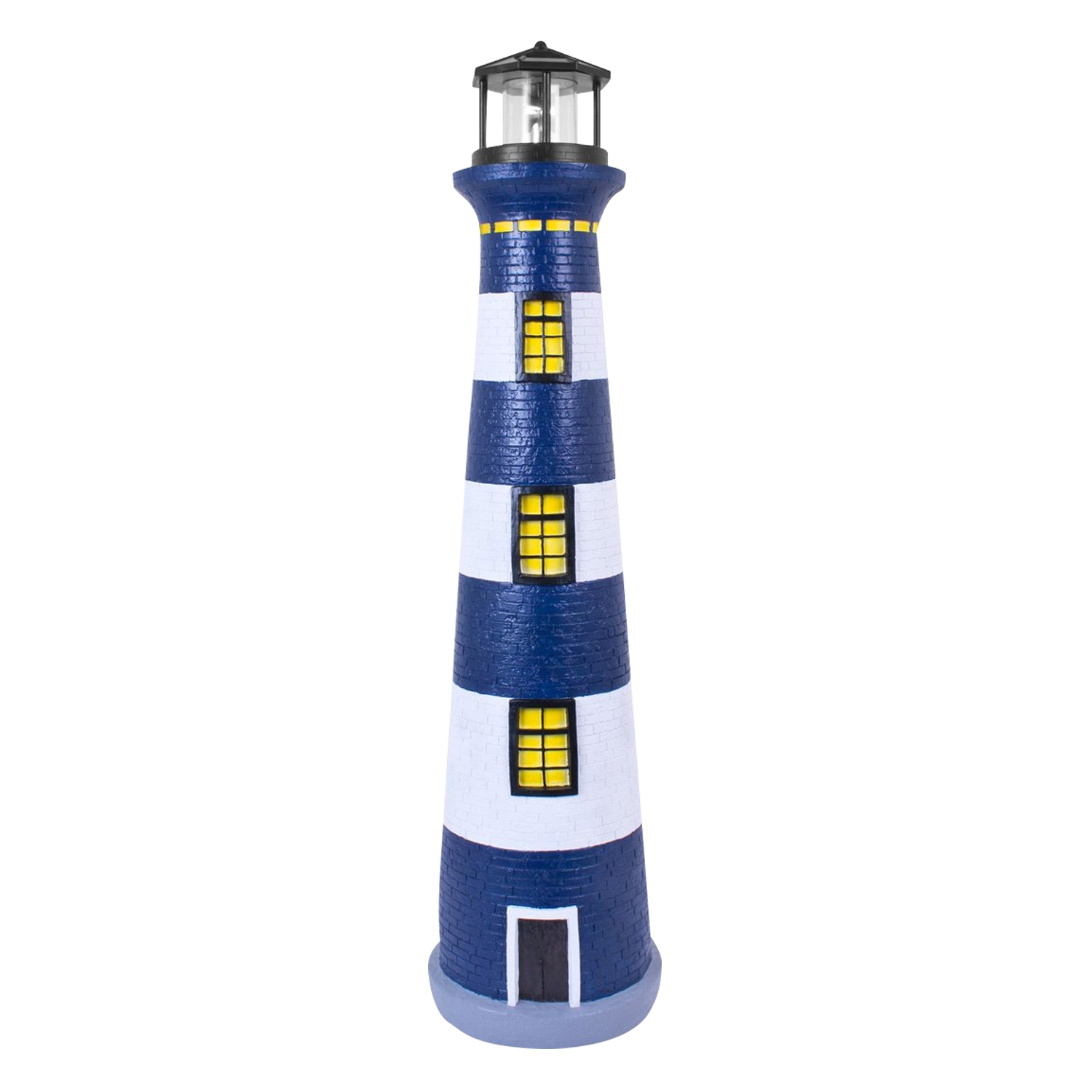 Click to view product details and reviews for Large Solar Revolving Light House.