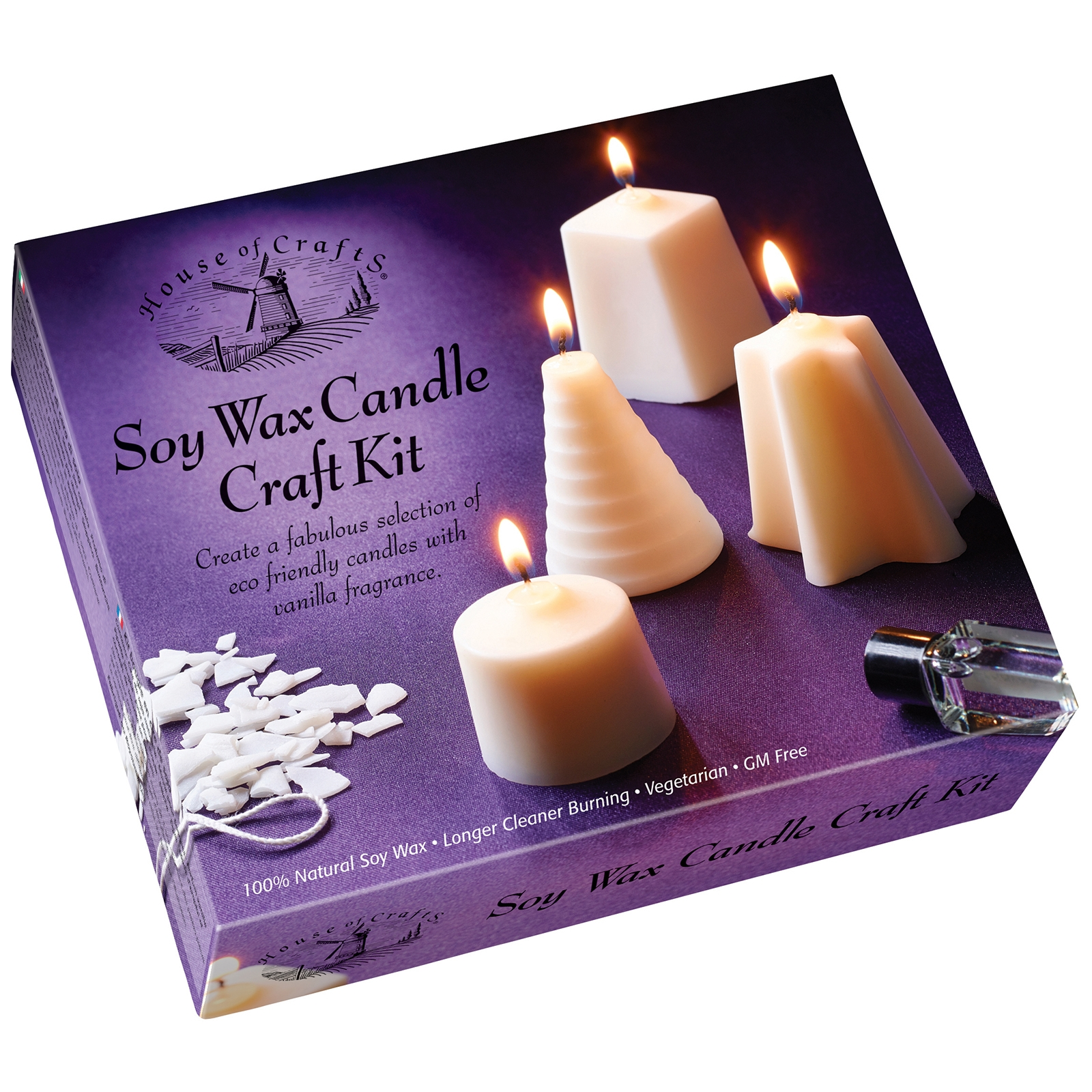 Click to view product details and reviews for Soy Wax Candle Craft Kit.