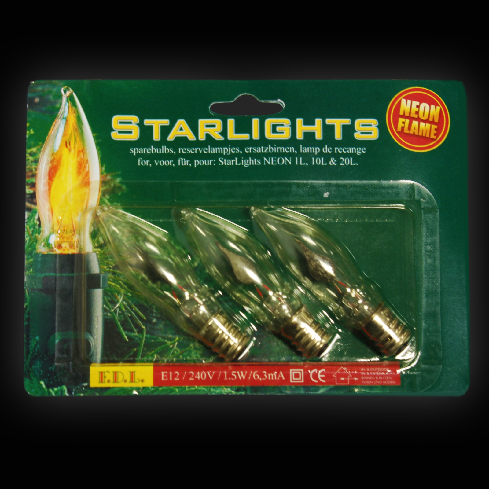 Click to view product details and reviews for Spare Bulbs For Flicker Flame String 3 Pack.