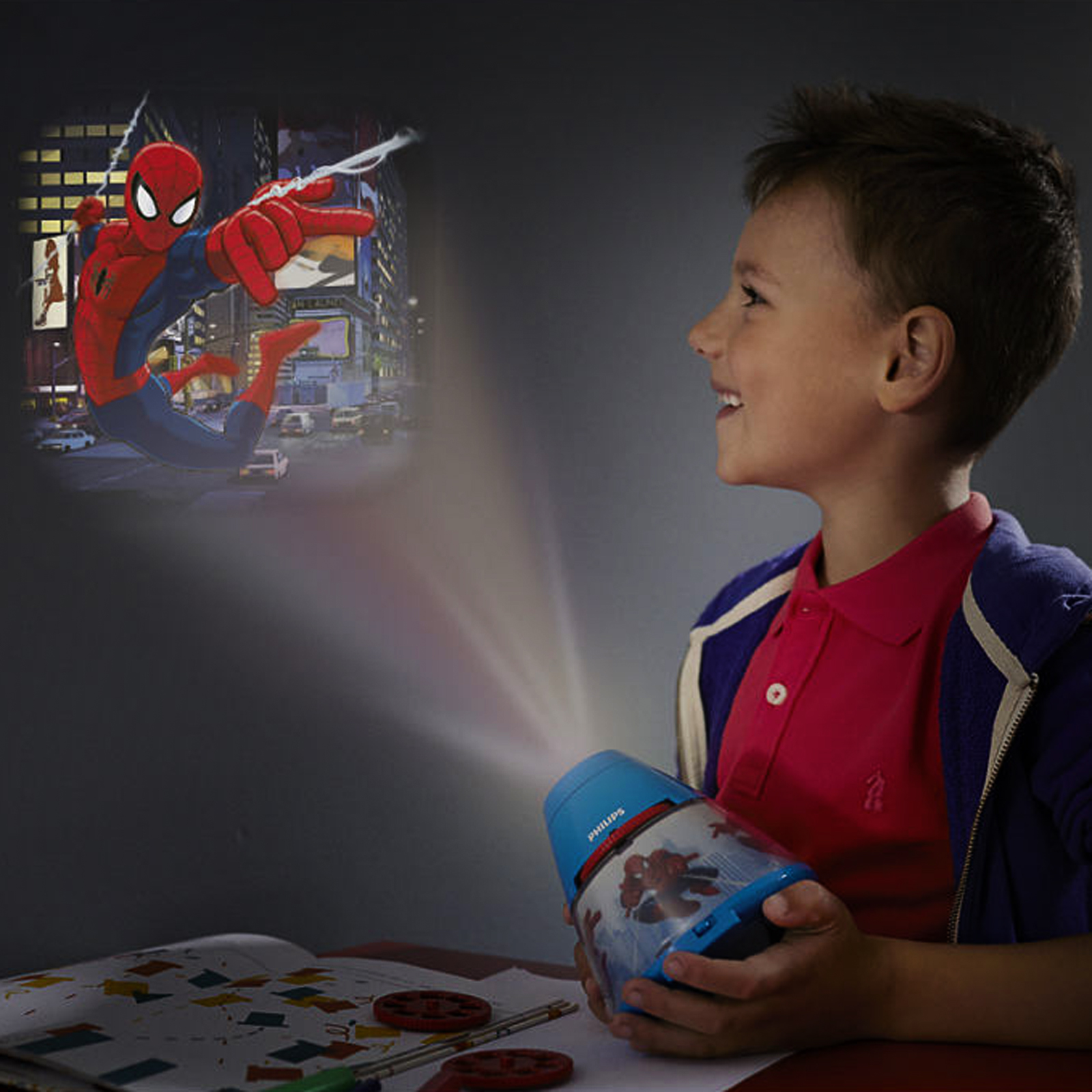 Click to view product details and reviews for Philips Spiderman Projector Lamp.