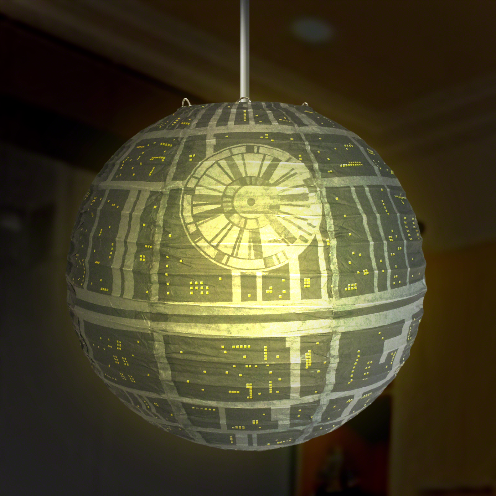 Click to view product details and reviews for Star Wars Death Star Lightshade.