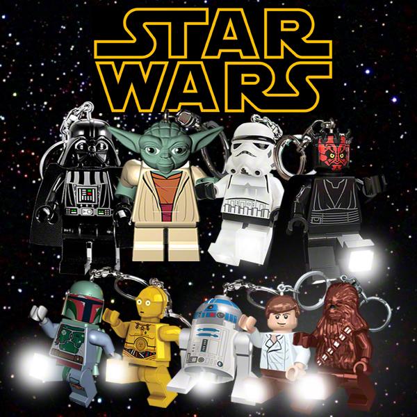 Lego Star Wars Led Key Lights