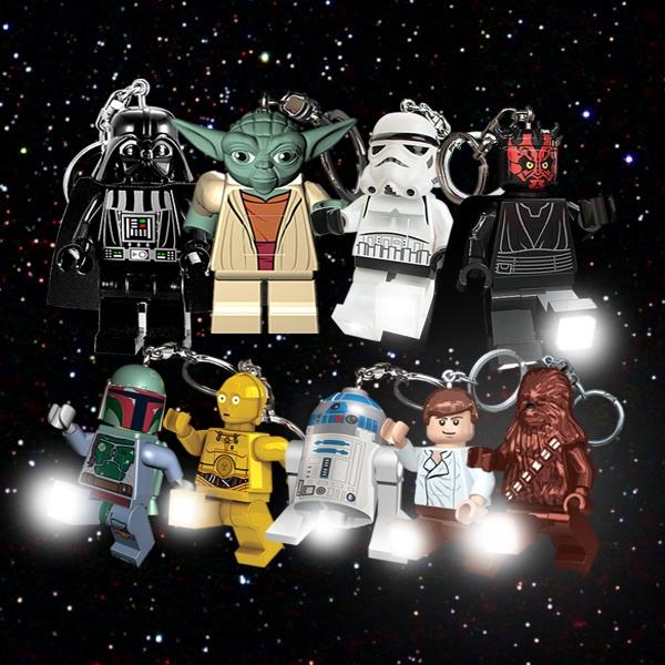Yoda Lego Star Wars Led Key Light